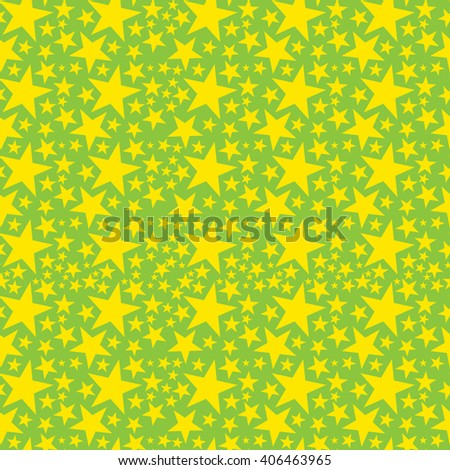 Vector seamless napkin background with stars - stock vector