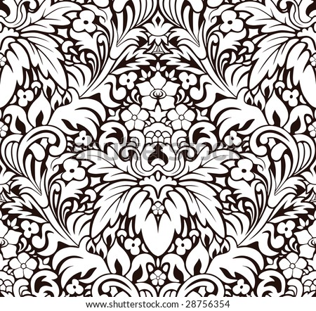 Vector. Seamless pattern - stock vector