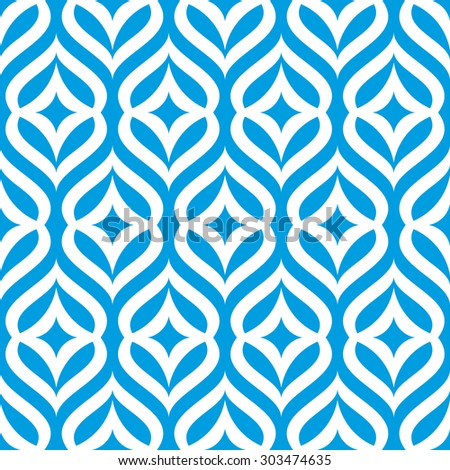 vector seamless pattern - stock vector