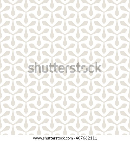 Vector seamless pattern. Geometric pastel texture. Stylish subtle background with triangular elements. - stock vector