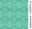 vector seamless pattern in emerald green, with thin delicate elegant lines, simple website or wedding invitation background, as well as wallpaper or textile for spring fashion. - stock photo