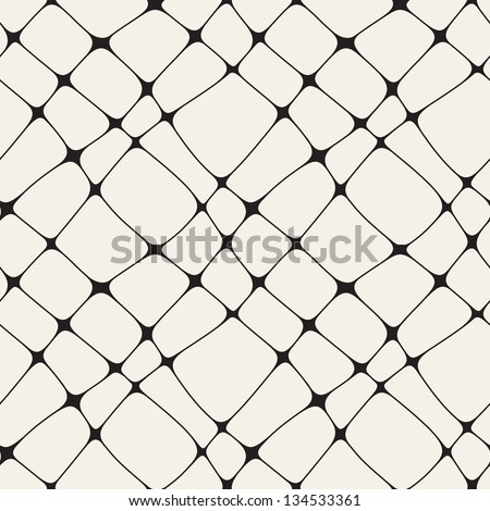 Vector seamless pattern. Modern stylish texture of mesh. Repeating abstract background - stock vector