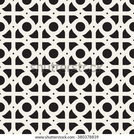 Vector seamless pattern. Modern stylish texture. Repeating abstract background. - stock vector