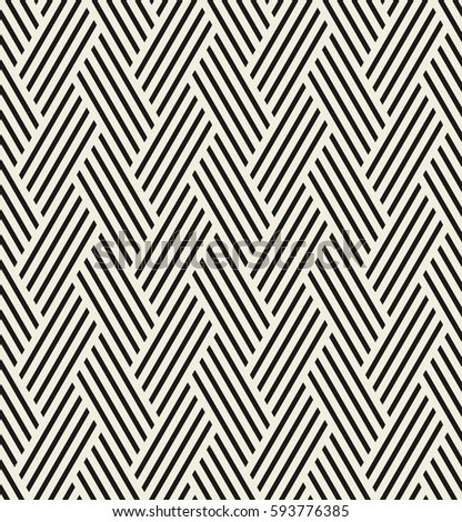 Vector seamless pattern/ Modern stylish texture. Repeating abstract background