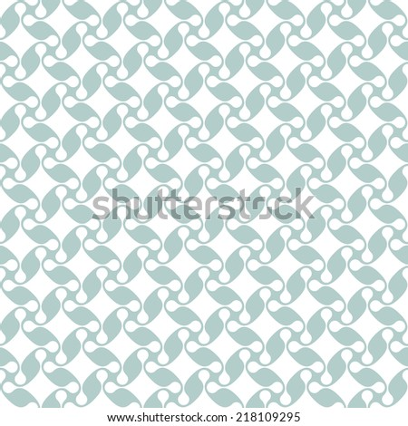 Vector seamless pattern. Modern stylish texture. Repeating geometric tiles from smooth elements - stock vector