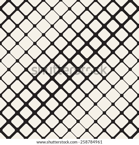 Vector seamless pattern. Modern stylish texture. Repeating geometric tiles. Octagonal grid with different thickness. Contemporary repeating texture. - stock vector