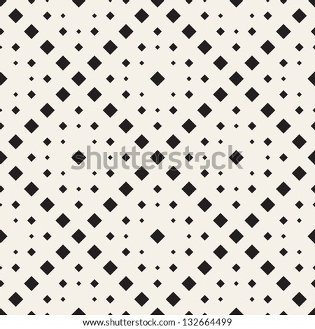 Vector seamless pattern. Modern stylish texture. Repeating geometric tiles of rhombus - stock vector