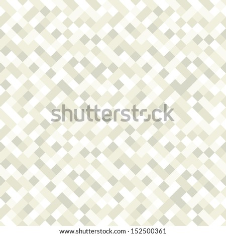 Vector seamless pattern. Modern stylish texture. Repeating geometric tiles with rhombuses. Subtle repeating background - stock vector