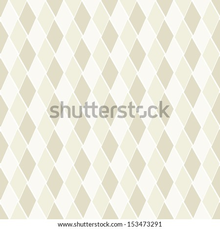 Vector seamless pattern. Modern stylish texture. Repeating geometric tiles with rhombuses. Subtle repeating background