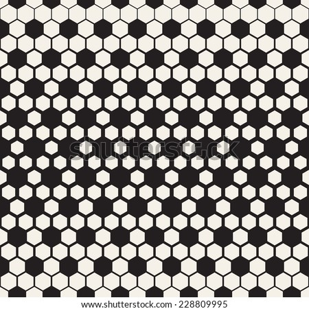 Vector seamless pattern. Modern stylish texture. Reticulate geometric tiles with thickness which decreases gradually - stock vector