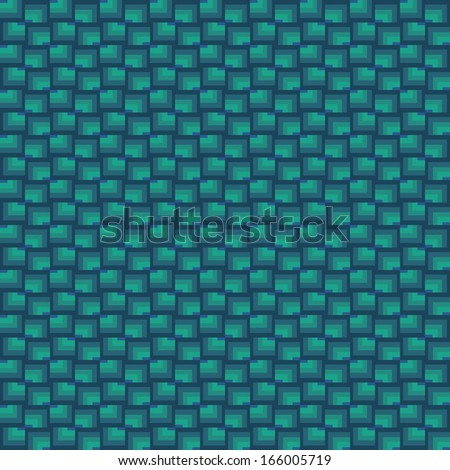 Vector seamless pattern. Modern stylish texture. Squares - stock vector
