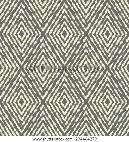 Vector seamless pattern. Modern stylish texture with rhombuses. Repeating geometric tiles.  - stock vector