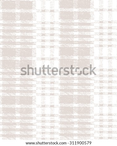 Vector seamless pattern. Multipurpose texture. Pastel stylish tartan background - stock vector