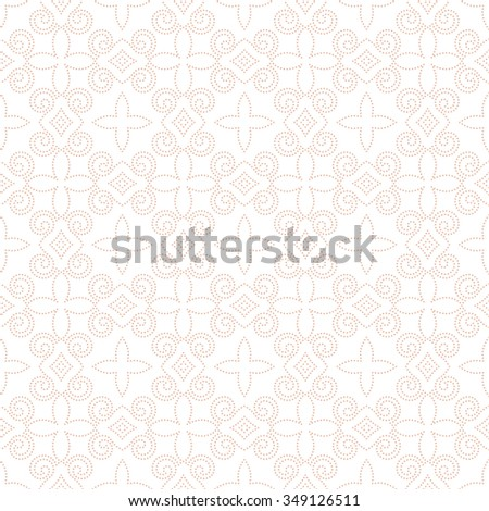 Vector seamless pattern. Repeating luxury dotted texture. You can use seamless patterns as background, fabric print, surface texture, wrapping paper, web page backdrop, wallpaper and more - stock vector