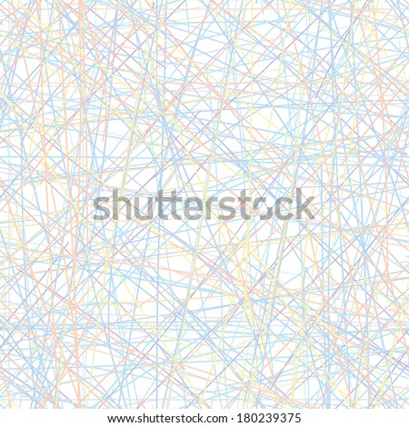 Vector seamless pattern - set of intersecting color lines. Eps8 simple texture - stock vector