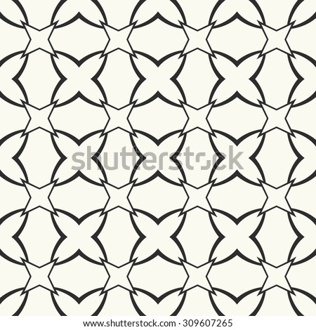 vector seamless pattern stylish textile print with geometric ethnic design black and white fabric
