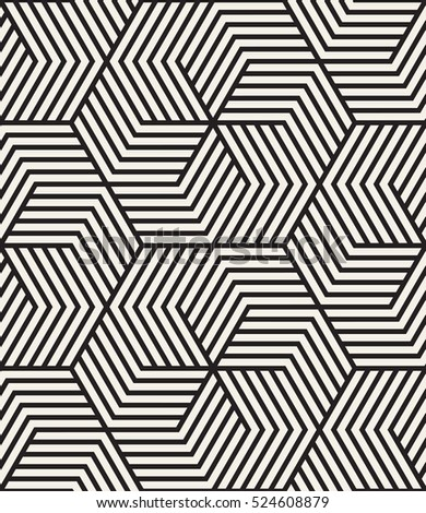 Vector seamless pattern with chevron. Modern geometric texture. Repeating abstract background. Polygonal linear grid from striped elements.