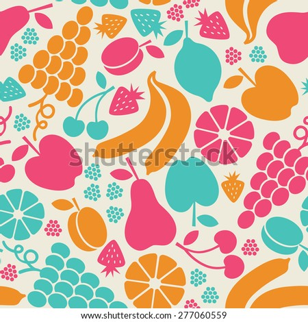 fruit fabric healthy fruits