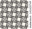Vector seamless pattern with squares. Modern stylish texture. Repeating geometric tiles - stock photo