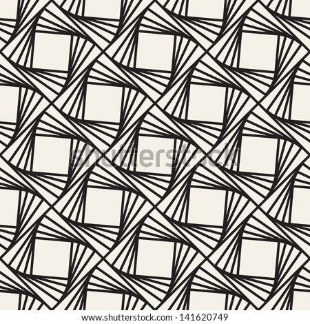 Vector seamless pattern with squares. Modern stylish texture. Repeating geometric tiles - stock vector