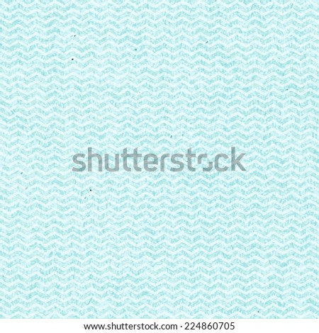 Vector seamless retro pattern with white and blue zigzag ornament