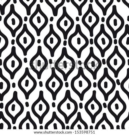 Vector seamless simple pattern. Modern stylish texture. Repeating abstract background. - stock vector