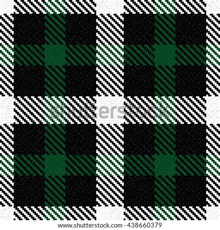 Vector seamless tartan plaid pattern. High-detail. Abstract colorful background for print onto fabric, wallpaper and textile.