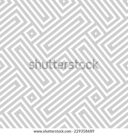 Vector seamless texture. Abstract geometric monochrome diagonal pattern. Modern mosaic background. - stock vector