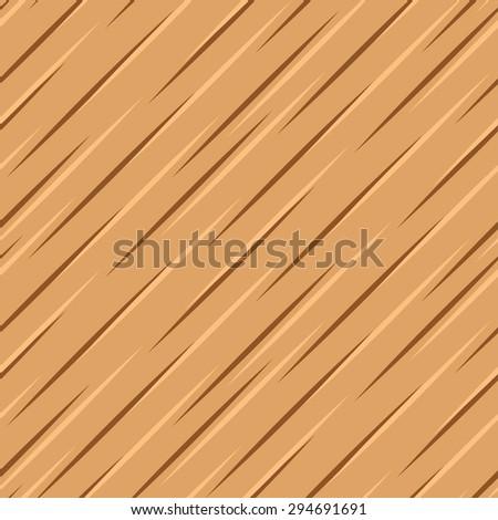 vector seamless wallpaper in a brown wooden surface - stock vector