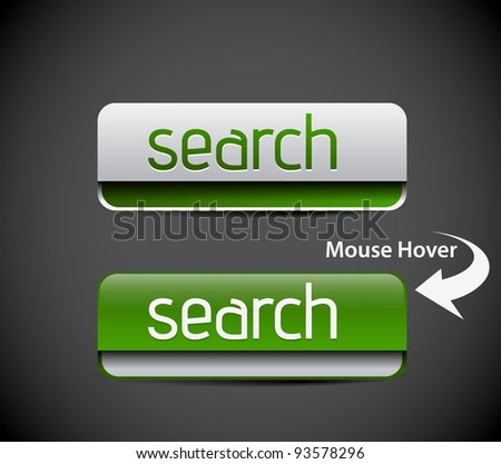 vector search icon web design element. - stock vector