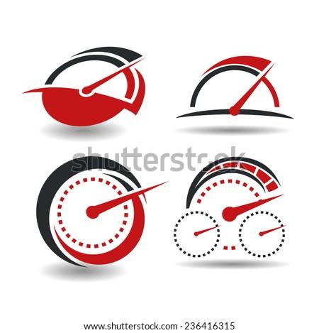 Tachometer Stock Photos, Royalty-Free Images & Vectors ... Tachometer Logo