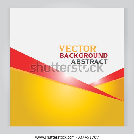 vector set of banners abstract headers with SquareYellow diagonal trianglegray - stock vector