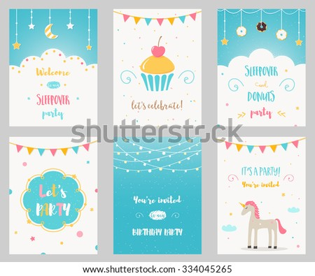 Slumber Party Stock Images RoyaltyFree Images Vectors