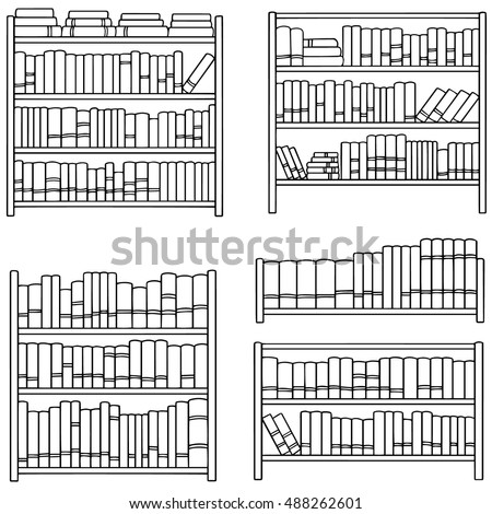 Book Shelf Stock Images Royalty Free Images Vectors Shutterstock