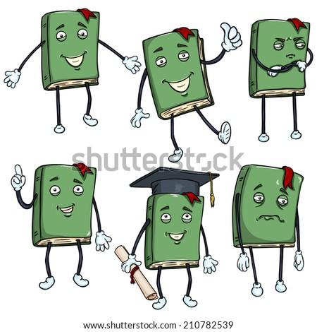 Personification Cartoon Characters Vector Set of Cartoon ...