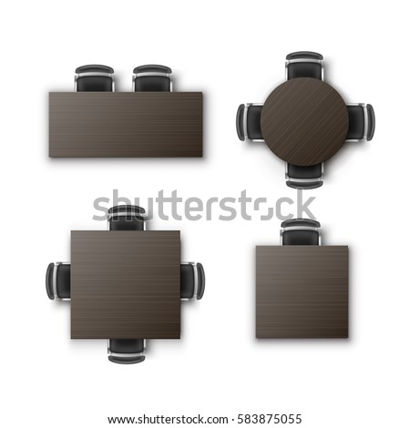 Furniture Top View Stock Images RoyaltyFree Images Vectors