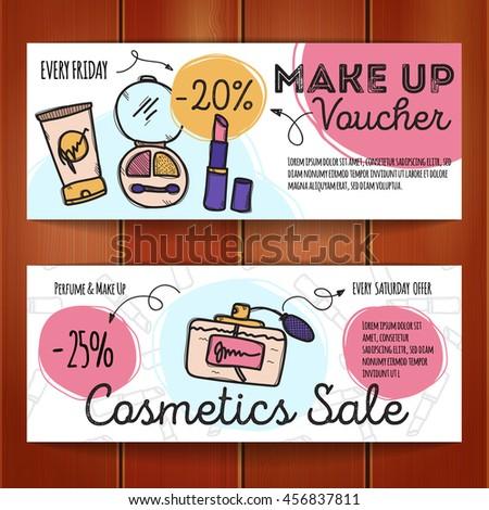 Vector set discount coupons make products stock vector 456837811 shutterstock - Houseplanscom discount code set ...