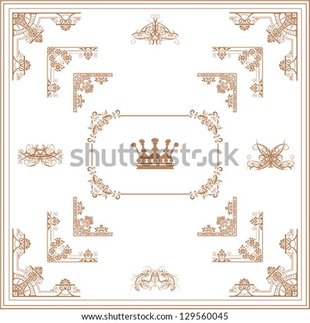 Elegant Gold Page Border Elegant Gold Page Borders