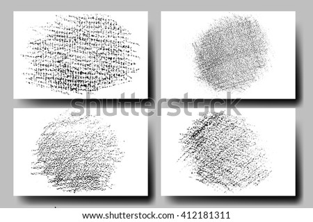 Vector set of grunge textures. Hatching with a pencil. Grunge Texture.Grunge Background.Grunge Effect.Grunge Overlay.Grunge Texture.Grunge Vector.Grunge Texture.Grunge Black.Grunge Texture. - stock vector