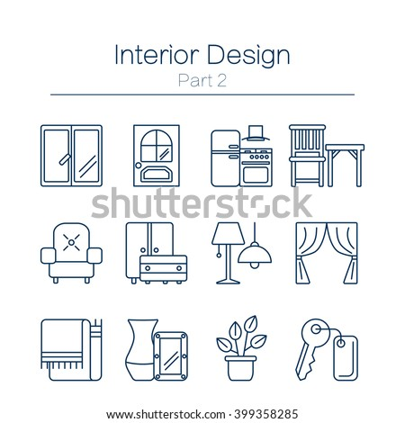 Curtain Icon Stock Images Royalty Free Images Vectors