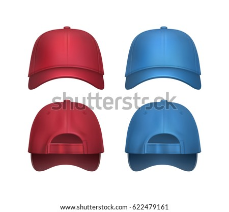 blue jays baseball cap 2016 uk stock vector set realistic red caps side view isolated white background navy hat