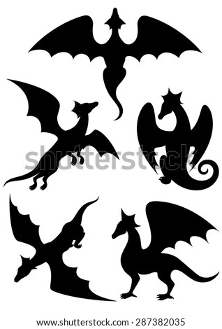 list of synonyms and antonyms of the word japanese dragon stencil