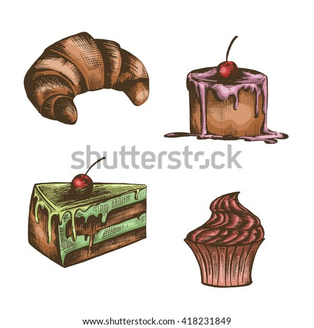 Vintage Birthday Cake Stock Images, Royalty-Free Images ...