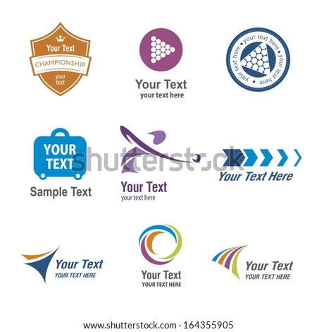 Vector Set: Vintage Sports and Recreation Labels and Icons - stock vector