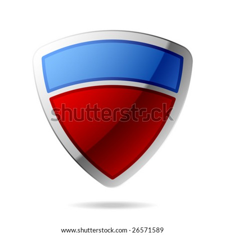 Vector shield - stock vector