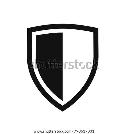 vector shield icon flat design best stock photo photo vector rh shutterstock com vector shield police vector shield logo