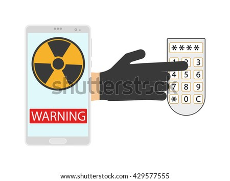 Vector shield password safety and lock password safety icon set. Password safety internet protection lock computer and secure system password safety icon. Information code flat password safety. - stock vector