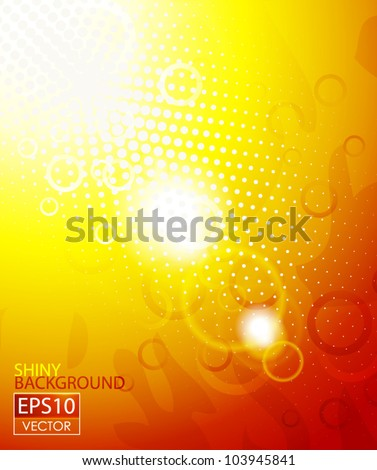 Vector shiny abstract background - stock vector