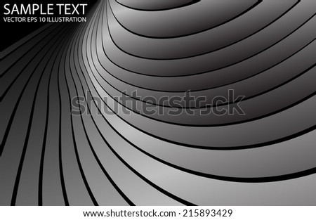 Vector shiny background abstract illustration - Abstract  shiny silver vector background template - stock vector