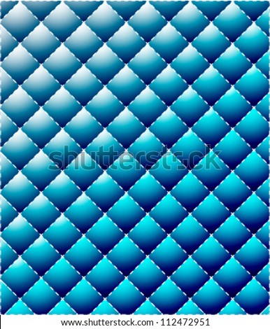 vector shiny leather background - stock vector